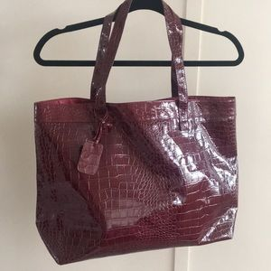 Neiman Marcus Red Tote